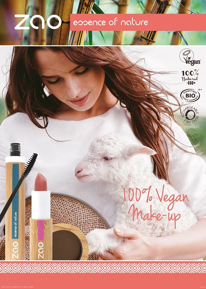 ZAOE 100% Vegan Make Up