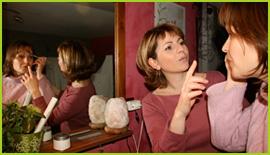A Ma Pause Beauté à Fondettes pour un cours d'auto maquillage avec Sabrina